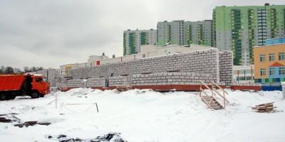 Богословская улица, строительство складов