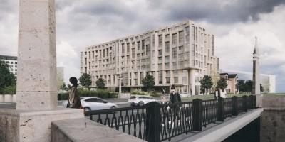 Черная речка, 1, проект жилого дома