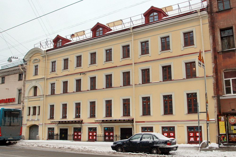 Дом Кавоса на Садовой улице, 73