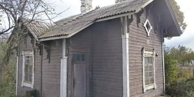 Дорога в Каменку, дом смотрителя переезда