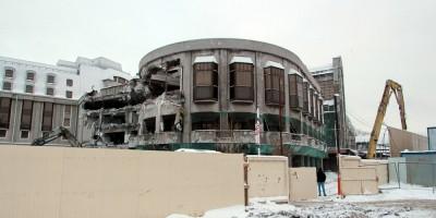 Гостиница Северная корона на Карповке, снос