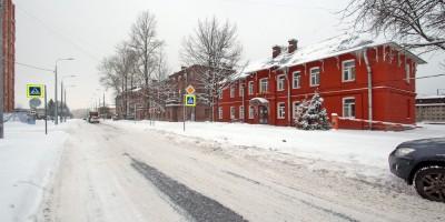 Колпино, Финляндская улица возле улицы Коммуны