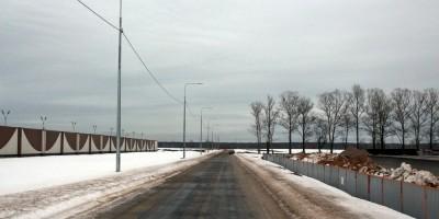 Колпино, новая дорога возле СИЗО