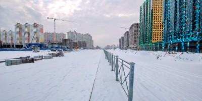 Комендантский проспект, участок возле Глухарской улицы
