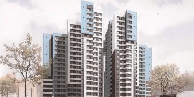 Переулок Челиева, проект жилого дома, переход