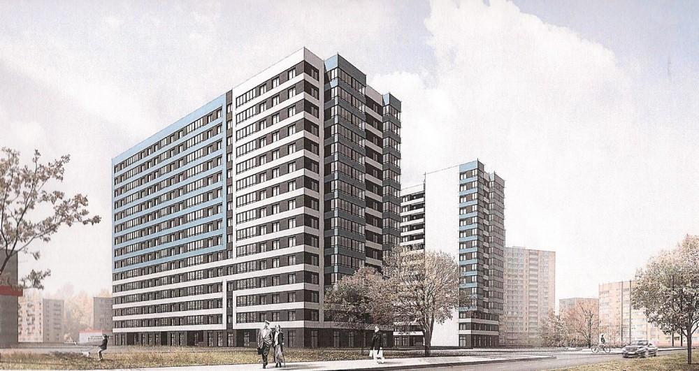 Переулок Челиева, проект жилого дома