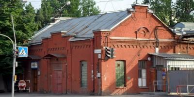 Проходная Невской косметики на проспекте Обуховской Обороны