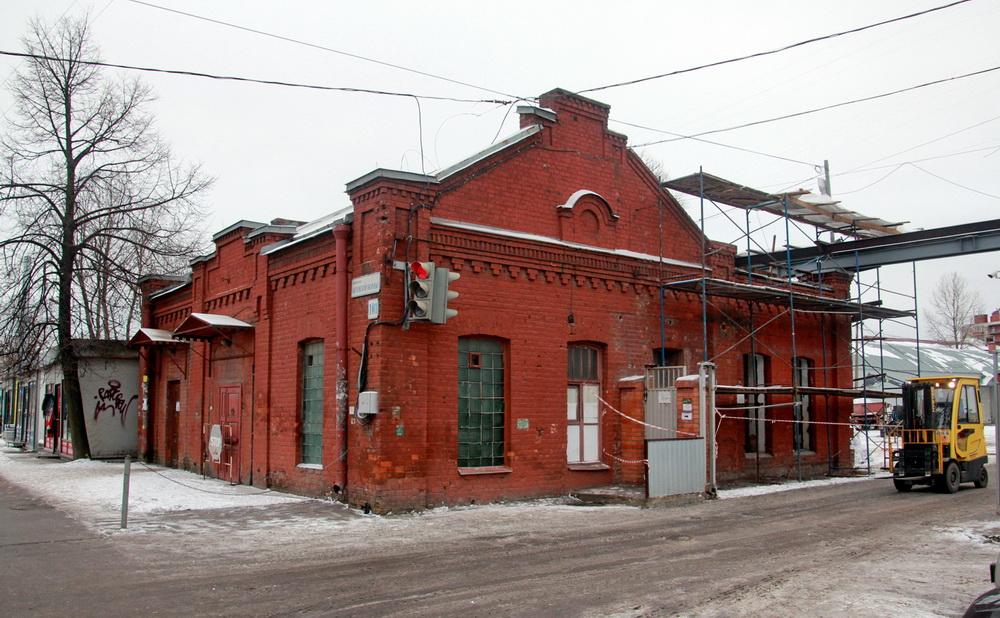 Проспект Обуховской Обороны, 101, проходная Невской косметики