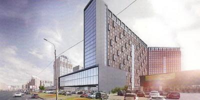 Проспект Просвещения, проект гостиницы