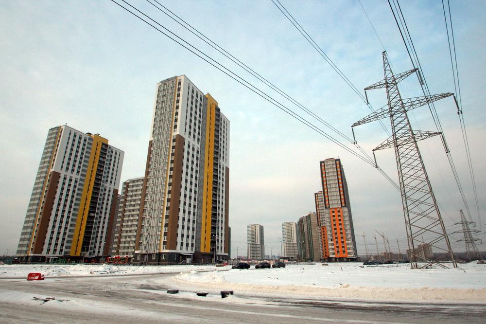 Угол Васнецовского проспекта и Муринской дороги