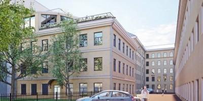 Улица Куйбышева, 24, литера Б, проект, вид сзади