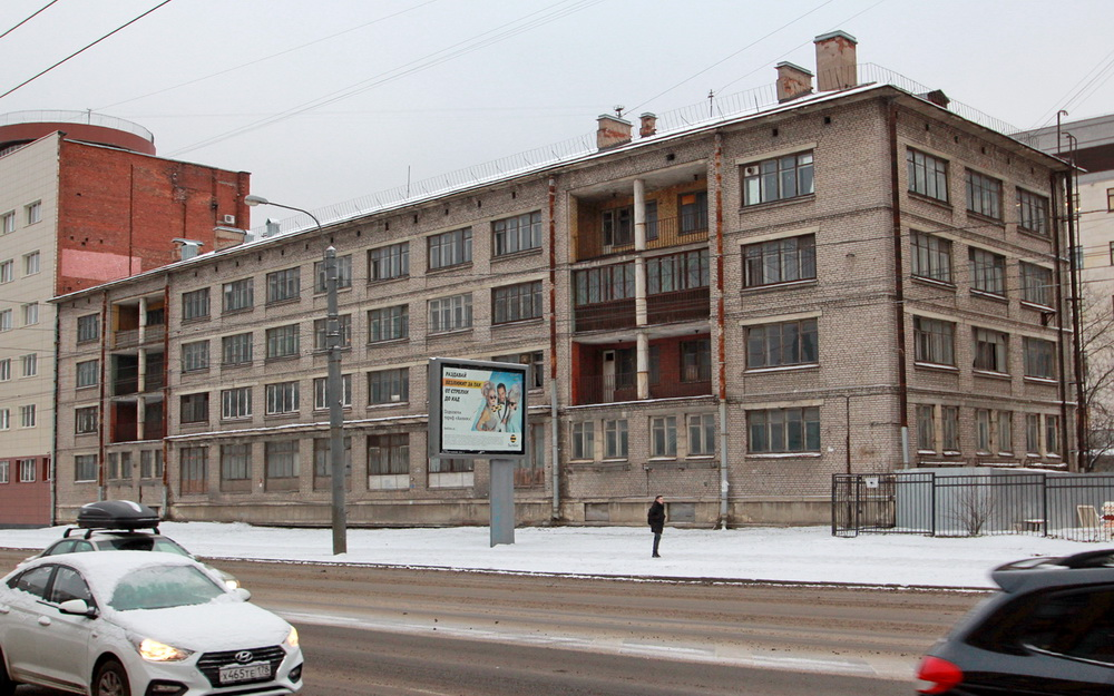 Улица Профессора Попова, дом 15, литера Б, корпус Института гриппа