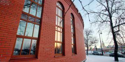 Александровский парк, кормокухня Ленинградского зоопарка, фасад