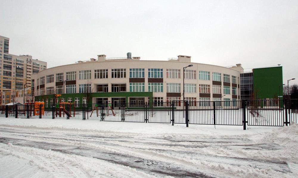 Антокольский переулок, 4, корпус 2, школа