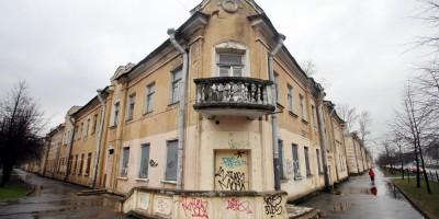 Колпино, угол улицы Губина и проспекта Ленина