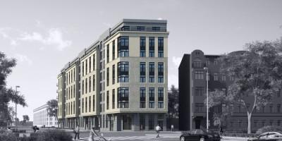 Улица Моисеенко, проект жилого дома