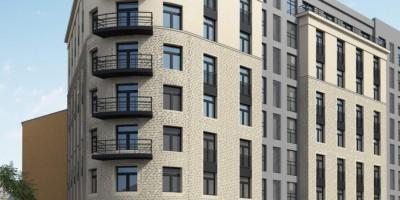 Улица Моисеенко, проект жилого дома, угол