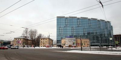 Заневский проспект, дом 42, вид с площади Карла Фаберже