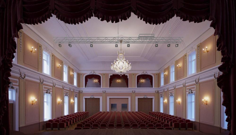 Кронштадт, проспект Ленина, дом 39а, актовый зал, проект