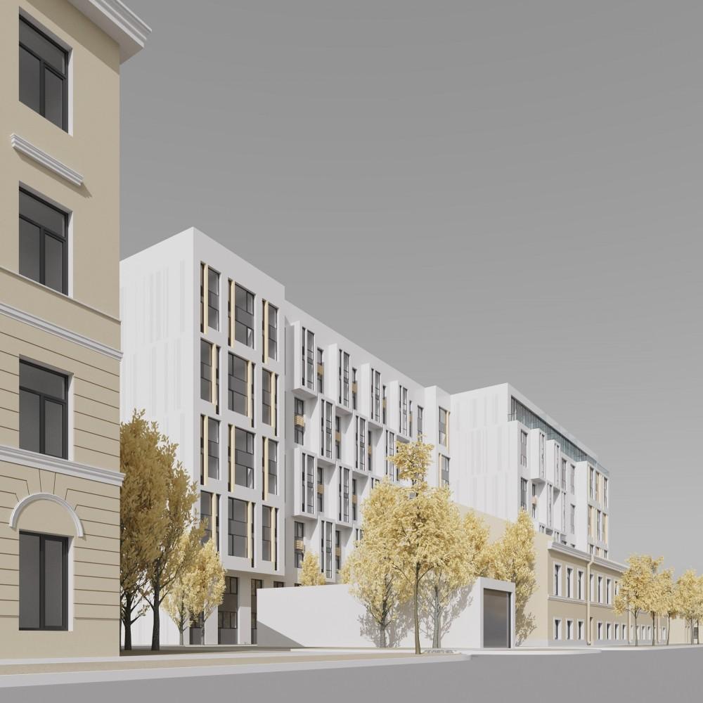 Прилукская улица, 28, проект жилого дома