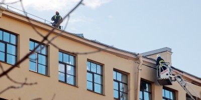 Улица Ломоносова, 9, после обрушения
