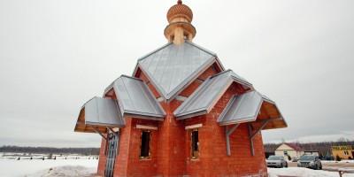 Колпино, Новое Колпинское городское кладбище, часовня Серафима Саровского
