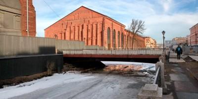 Крюков канал, мост
