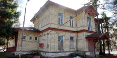 Кронштадт, дача Верещагина на Цитадельском шоссе, фасад