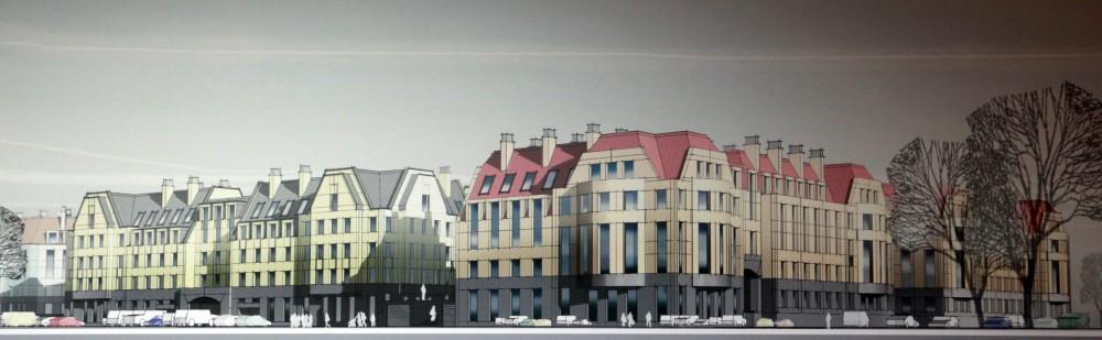 Лисий Нос, Зеленый проспект, 2, проект жилого комплекса, фасады