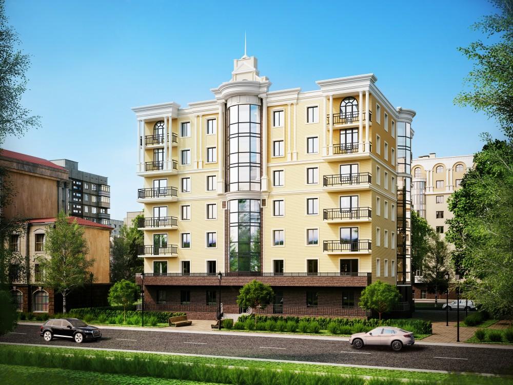Набережная Адмирала Лазарева, проект жилого дома