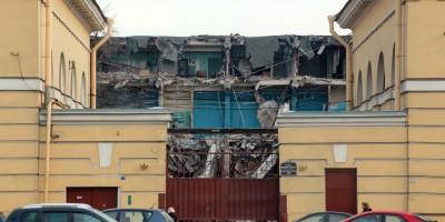 Снос очистных сооружений на Лермонтовском проспекте, 54, литера Б