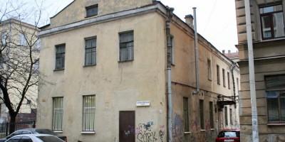 Полтавская улица, дом 14, литера Д, флигель