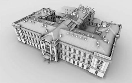 Проект капитального ремонта богадельни на Каменноостровском проспекте, 66