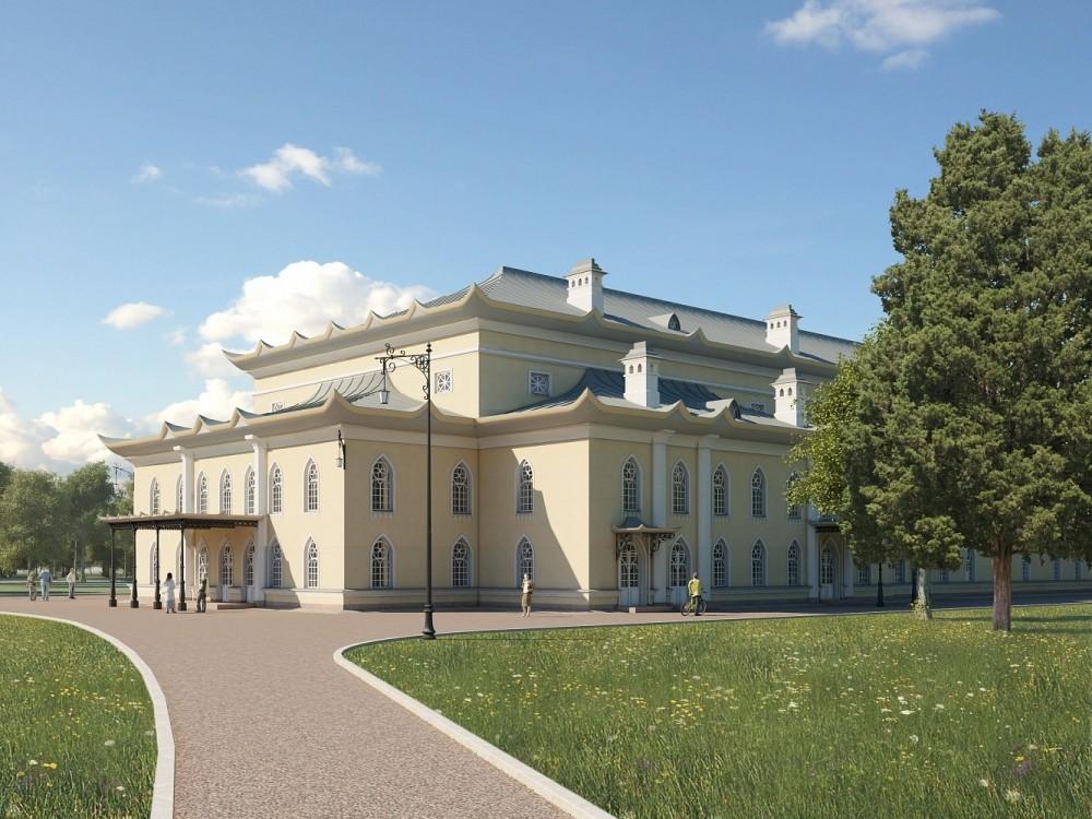 Пушкин, Китайский театр, проект восстановления