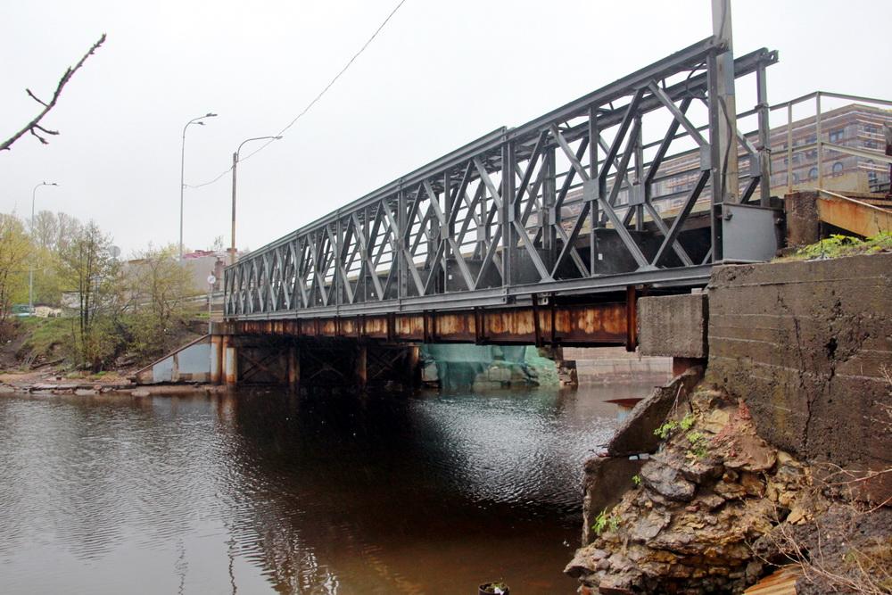 Шкиперский мост снизу