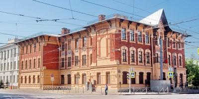 Здание Ольгинского детского приюта на Среднем проспекте Ваасильевского острова