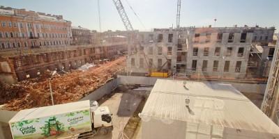 Звенигородская улица, 7, строительство МДТ