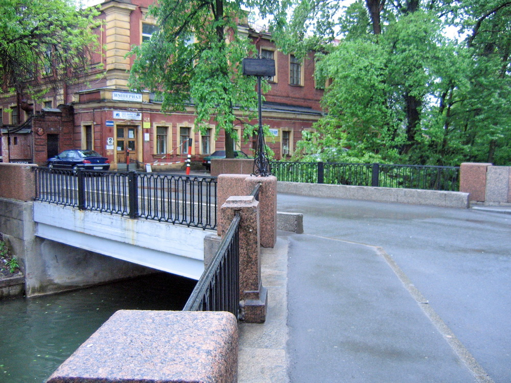 1-й мост Круштейна через Адмиралтейский канал