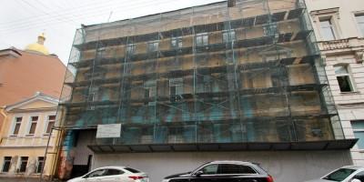 Дмитровский переулок, 15, капитальный ремонт