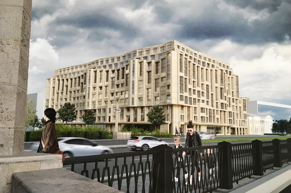 Набережная Черной речки, 1, проект жилого дома