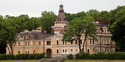 Дача Леоновой на набережной реки Малой Невки, 4