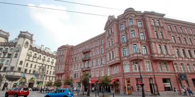 Дом Корзинина на площади Льва Толстого