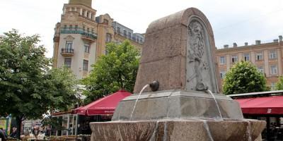 Фонтан на Сенной площади