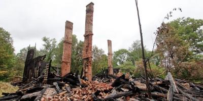 Красное Село, Фабричный Поселок, 5, после пожара