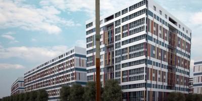 Намыв, проект застройки квартала, фасад