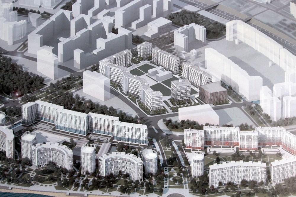 Намыв, проект застройки квартала
