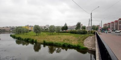 Проспект Ветеранов, берег реки Новой