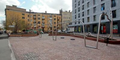 Сквер на улице Моисеенко
