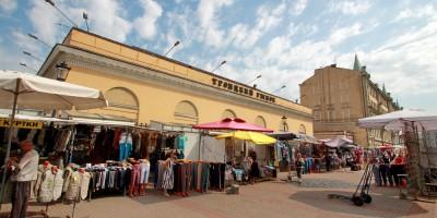Троицкий рынок на Троицкой площади