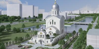 Балтийская жемчужина, церковь Димитрия Солунского